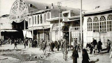 دمشق 1918- مدخل ســوق الحميـدية