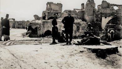 دمشق 1925-  بعد القصف الفرنسي