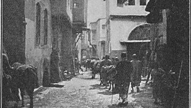 دمشق 1899- تصوير فان أوبنهايم