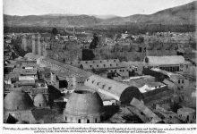 دمشق 1899- القلعة من الزاوية الشمالية الغربية