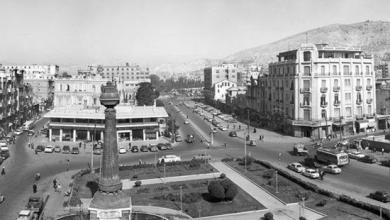 دمشق 1970 - ساحة المرجة