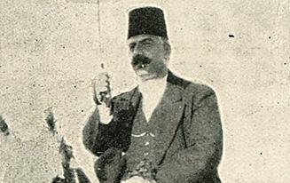 تاجر دمشقي في طريقه للعمل 1919