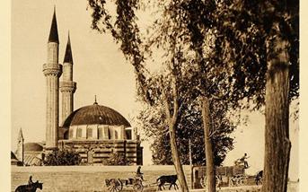 دمشق 1925- التكية السليمانية -نهر بانياس