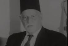 صورة مقابلة مع الأمير سعيد الجزائري في دمشق