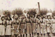 صورة فتيات الكشاف في سورية عام 1958م