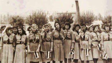 فتيات الكشاف في سورية عام 1958م