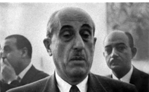 صورة انتخاب شكري القوتلي رئيساًعام 1955