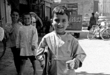صورة دمشق 1966- أطفال مدارس