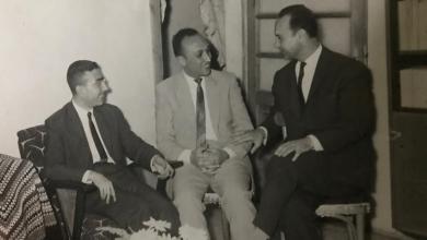 حلب  1962 - فاضل السباعي مع عبد الرحمن البيك وجورج سالم