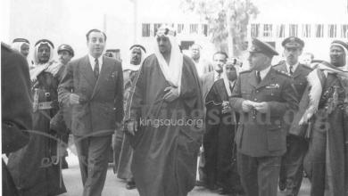 صورة سعود بن عبد العزيز في متحف دمشق