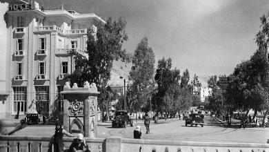 دمشق- مقابل محطة الحجاز، شارع الجابري في الثلاثينيات