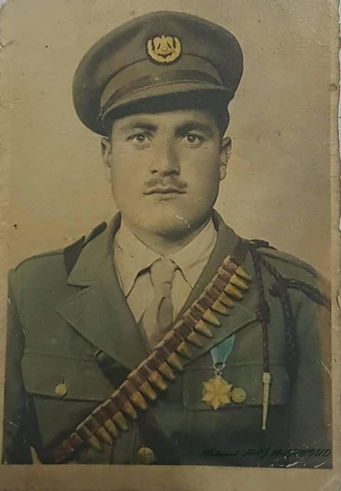 أحد عناصر الدرك في سورية عام 1953