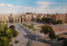 حلب - ساحة سعدالله الجابري في أواخر الستينيات