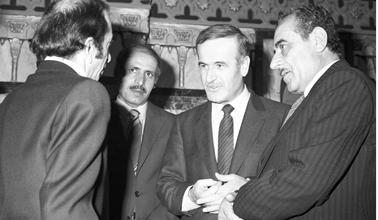 حافظ الأسد في افتتاح الدور الرابع لمجلس الشعب