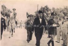 صورة نائبُ محافظ اللاذقـيَّة القاضي (رشيد حميدان) وقائد الدرك