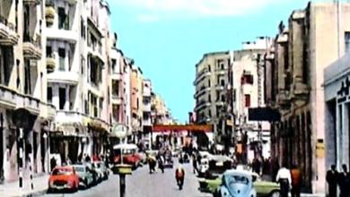 حلب 1960 - شارع بارون
