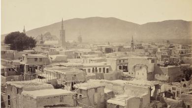دمشق القديمة عام 1862