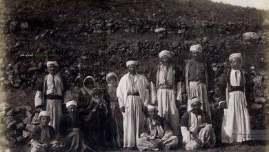 مجموعة من سكان مصياف 1890