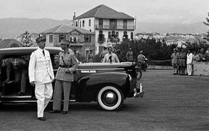 دمشق 1942 - استقبال شارل ديغول