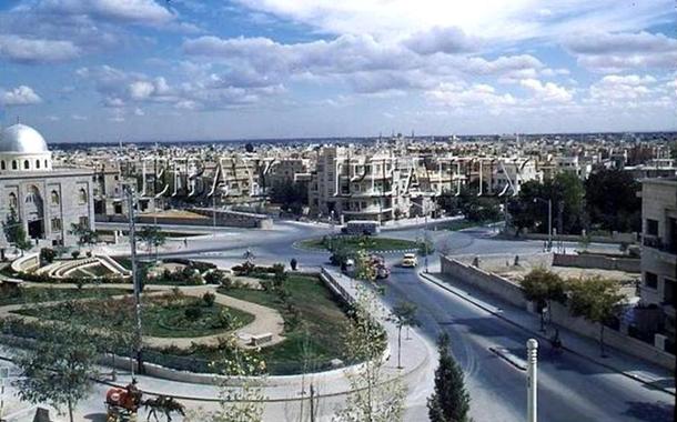 دمشق 1955- ساحة الروضة أو ساحة أبو العلاء المعري