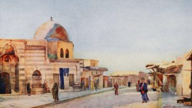 صورة دمشق – حي الميدان عام 1907م
