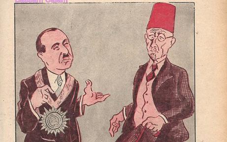 كاريكاتير - رئيس وزراء سورية ولبنان