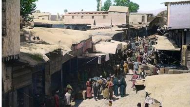 دمشق 1911- سوق المحايرية - طريق الحلوانيين