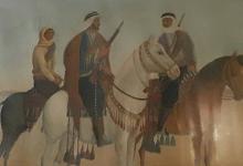 صورة لوحة ثوار الغوطة في عهد الانتداب الفرنسي