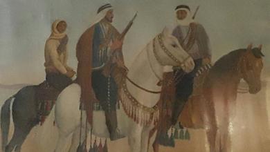 لوحة ثوار الغوطة في عهد الانتداب الفرنسي