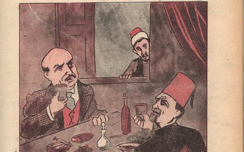 هاشم الأتاسي وعبد الحميد كرامي
