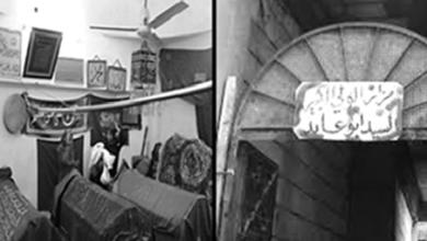 """صورة مزار """"أبو عابد"""" في دير الزور"""