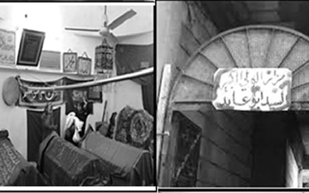 """مزار """"أبو عابد"""" في دير الزور"""