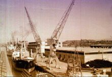 صورة اللاذقية في نهاية الخمسينيات – المرفأ اللاذقية