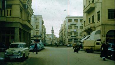 صورة دمشق -ساحة الحريقة في الستينيات