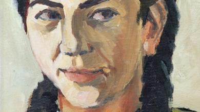 لوحة للفنان ممدوح قشلان