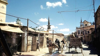 دمشق - جامع الذبان والزاوية السعدية