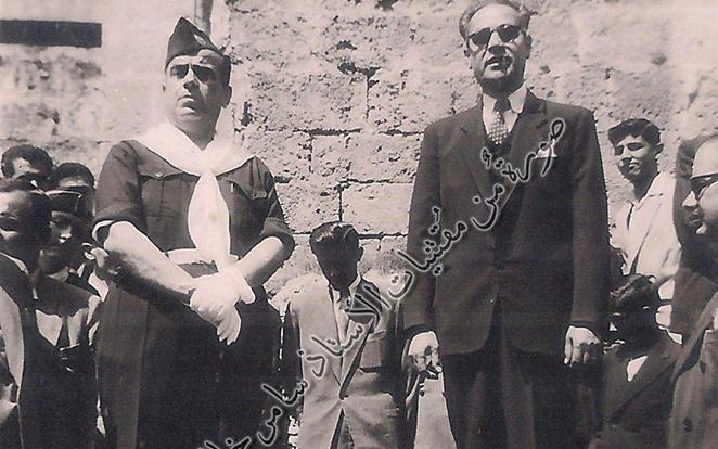 احتفالات عيد الجلاء في اللاذقـيَّة عام 1950م