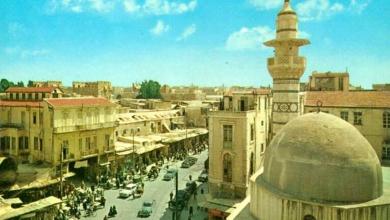 دمشق - محلة وجامع السنجقدار