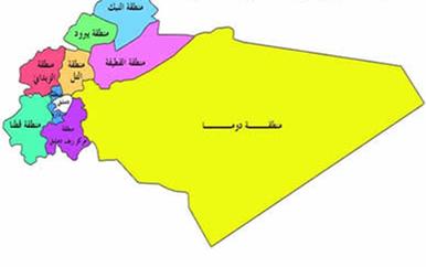 التقسيمات الإدارية في ريف دمشق