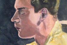 لوحة للفنان مروان شاهين (2)