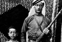 شقيقان من عائلة (رحيمة) اليهودية في قرب القامشلي
