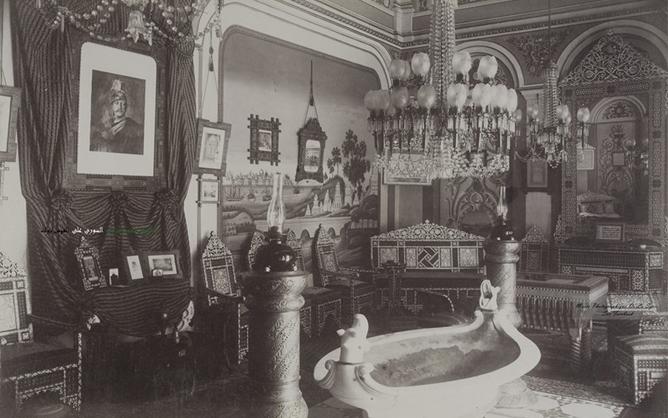 دمشق 1898- منزل الوالي ناظم باشا اثناء زيارة قيصر المانيا