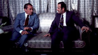 ريتشارد نيكسون وحافظ الأسد عام 1974
