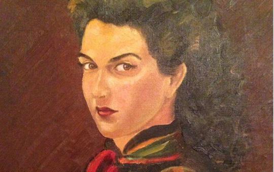 لوحة للفنان مروان شاهين (1)