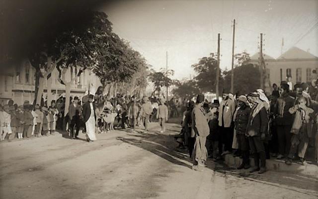 دمشق 1918- بانتظار موكبي الأمير فيصل والجنرال اللنبي