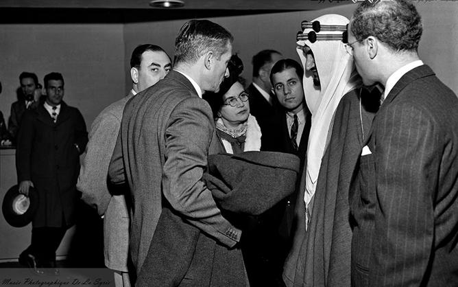 أليس قندلفت في اروقة الامم المتحدة 1947