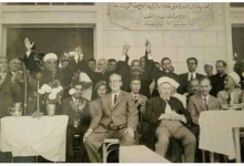 صورة اللاذقية 1971- عبد الستار السيد وزير الأوقاف في افتتاح جامع كسب