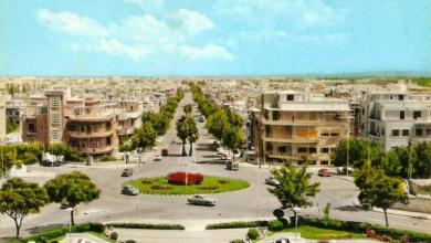 دمشق - شارع أبو رمانة مطلع الستينيات