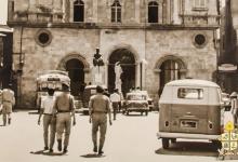 صورة حلب 1968- واجهة كاتدرائية مار الياس المارونية