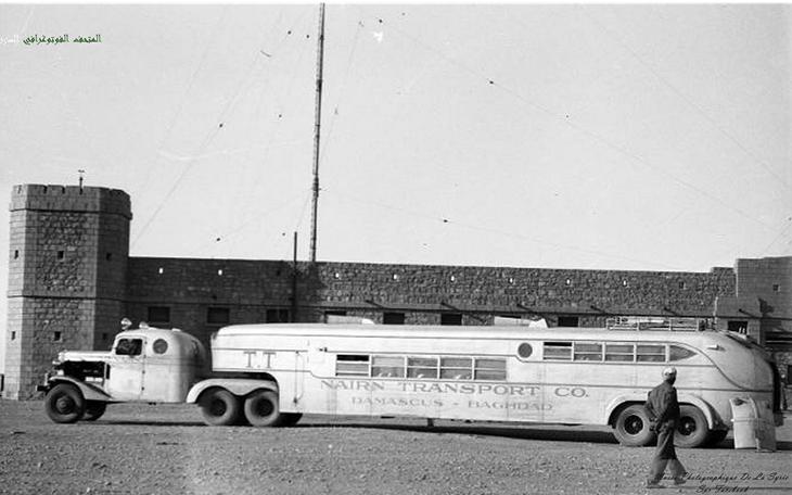 حافلة شركة نيرن دمشق - بغداد 1937